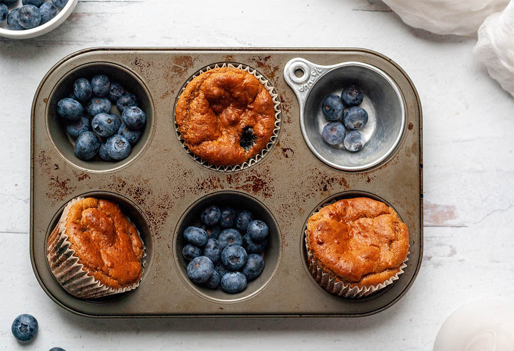 Octonuts Recipe for Paleo Blueberry Protein Muffins