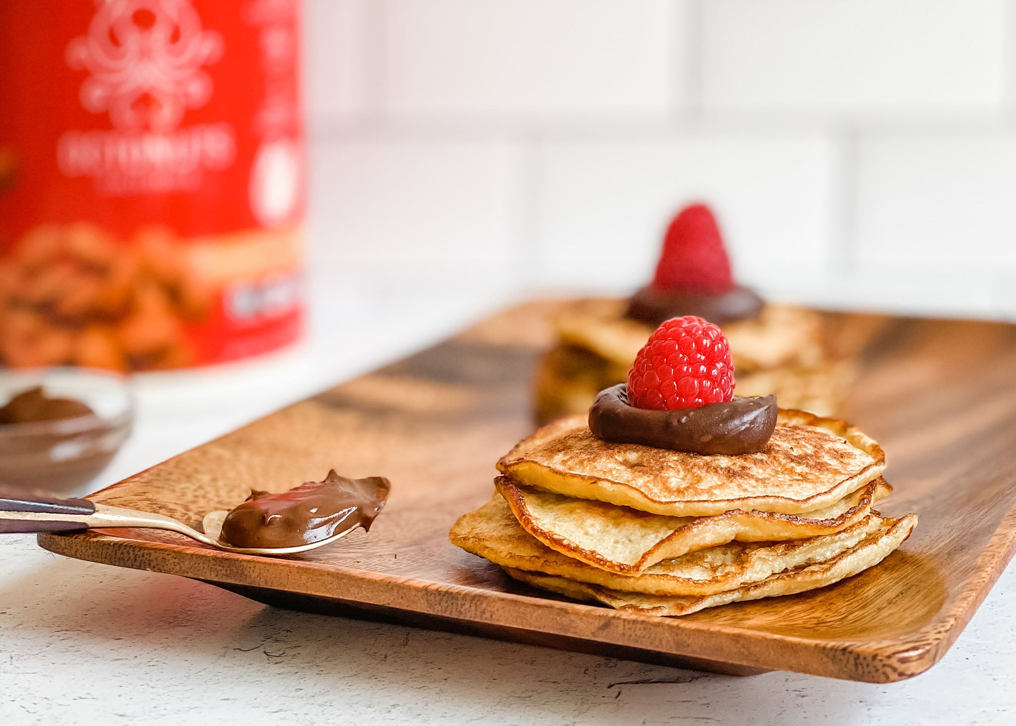 Octonuts 3 Ingredient Almond Protein Pancakes