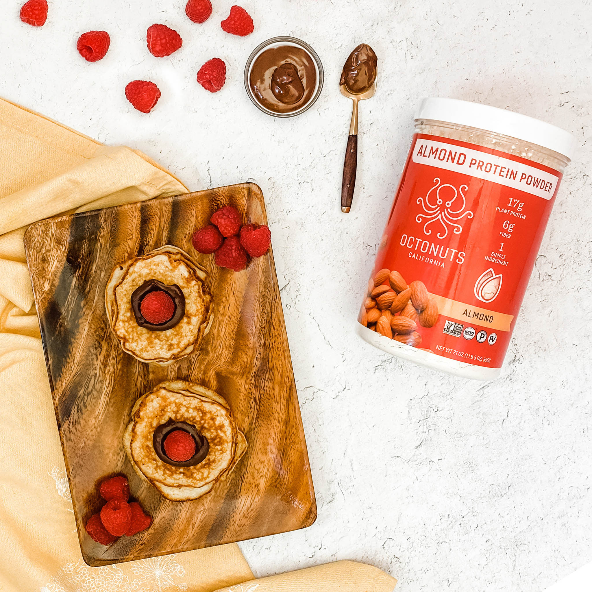 Octonuts Almond Protein Pancakes