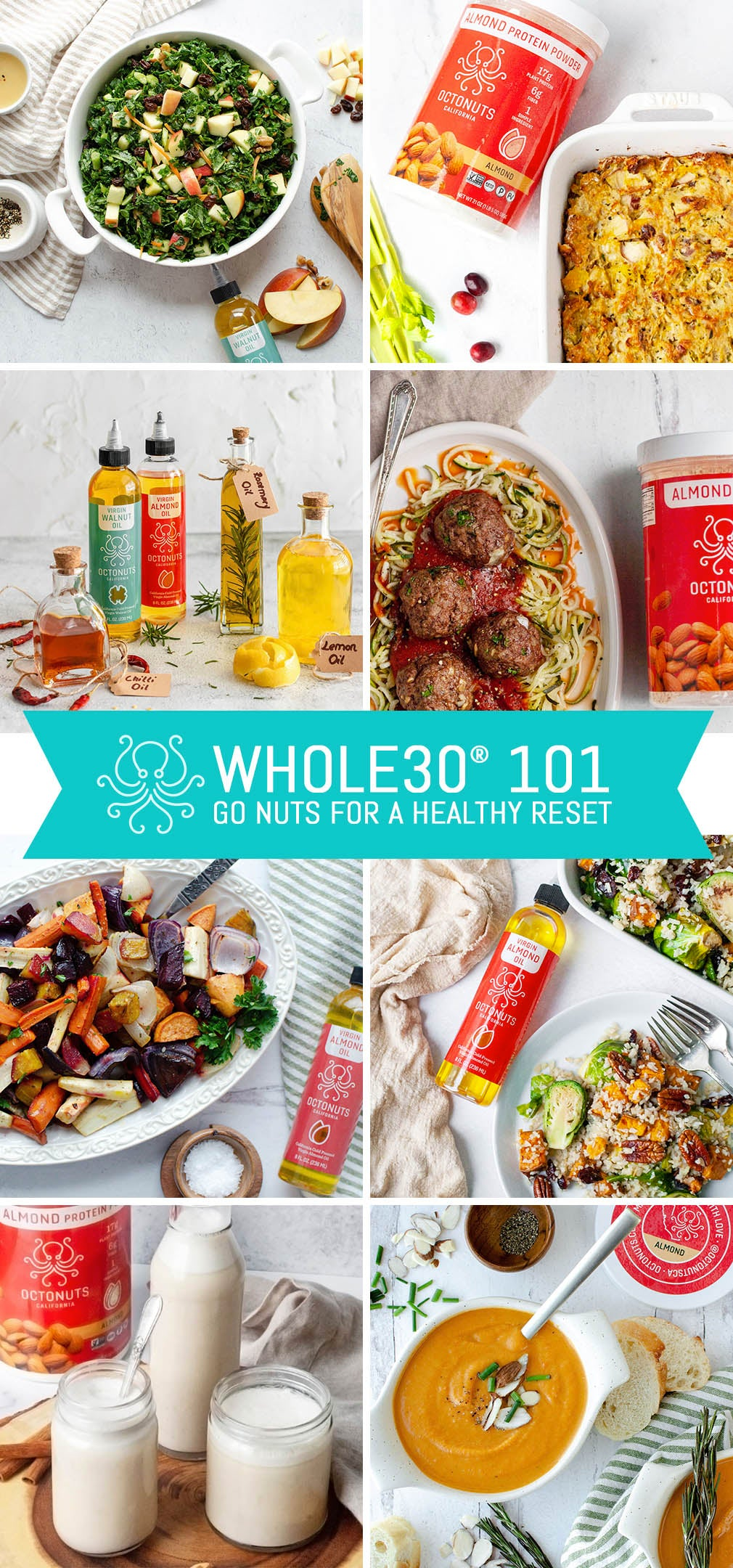 Whole30® 101: Go Nuts for a Healthy Reset