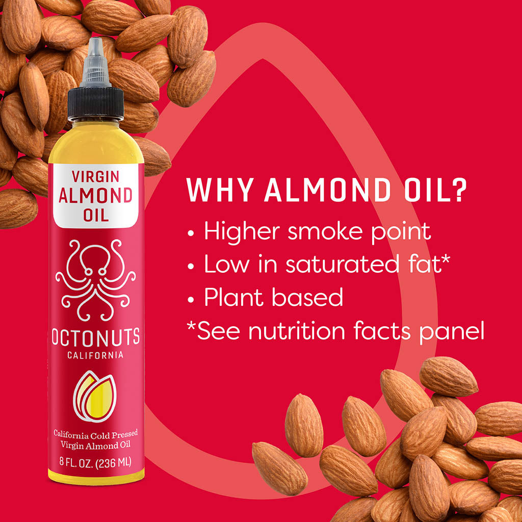 California Cold Pressed Virgin Almond Oil