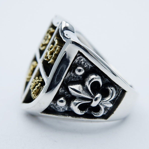 SILVERBONE CREW RING