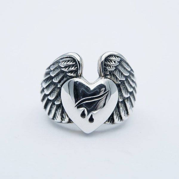DROP HEART RING
