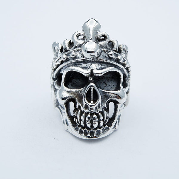 MAYA CROWN SKULL RING