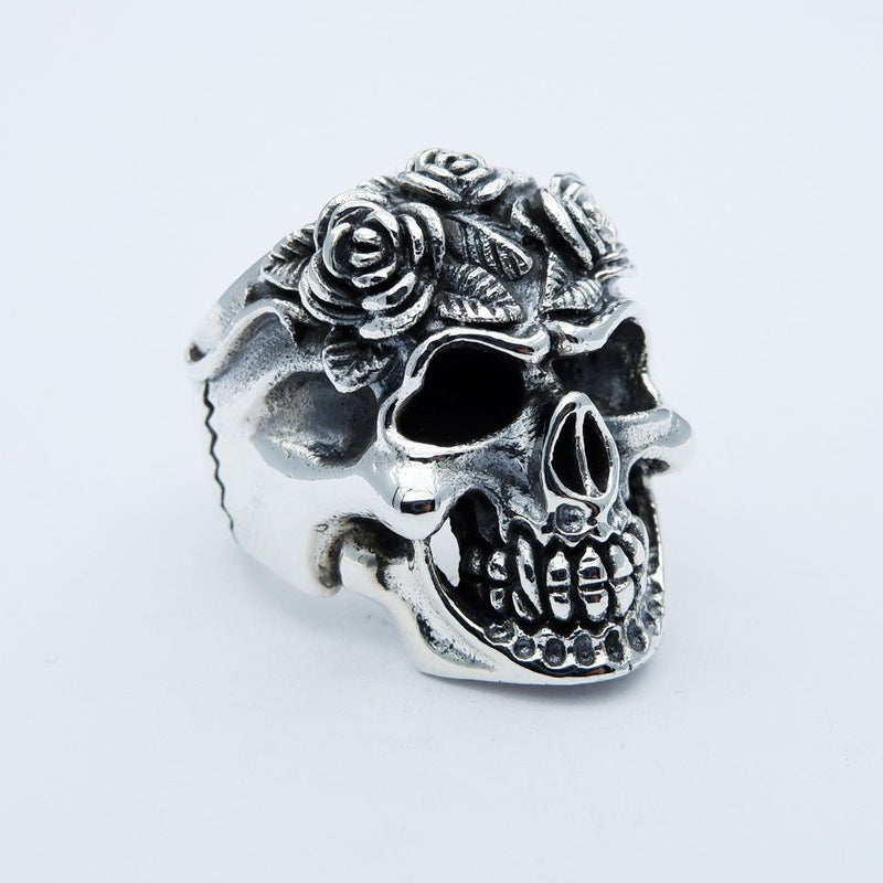 ROSE HELL'S SKULL RING