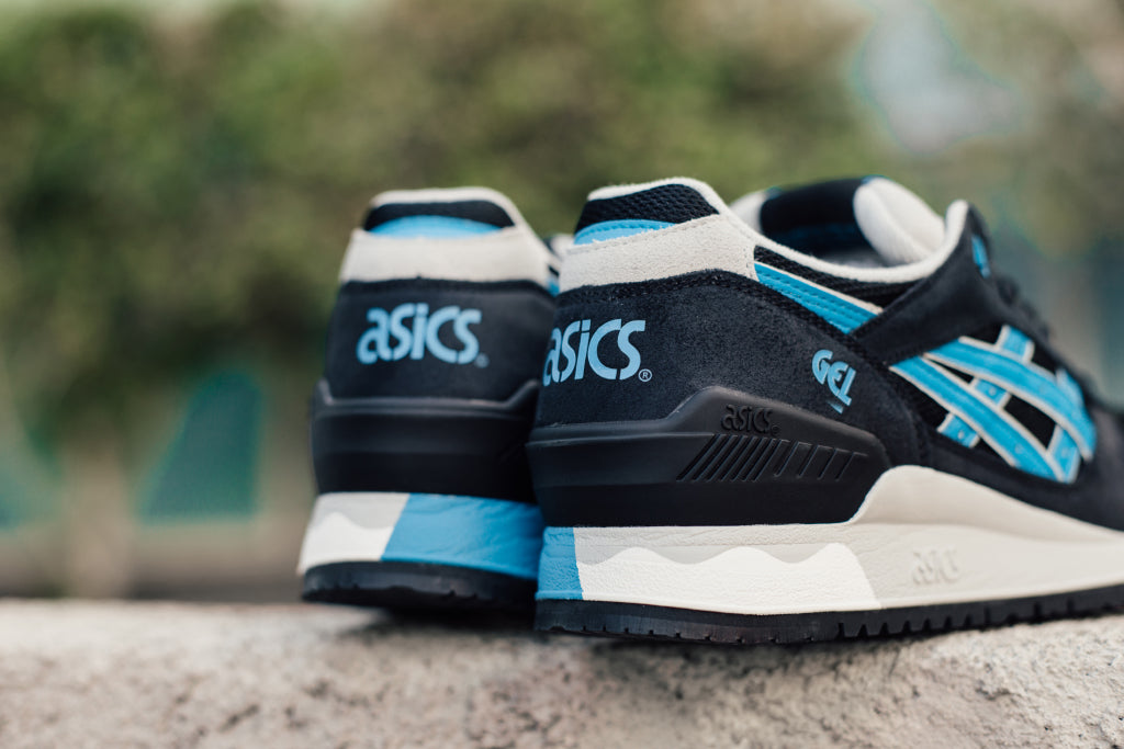 ASICS Gel-Respector In Black Atomic Blue Available Now – Feature ... 7f8cf0118