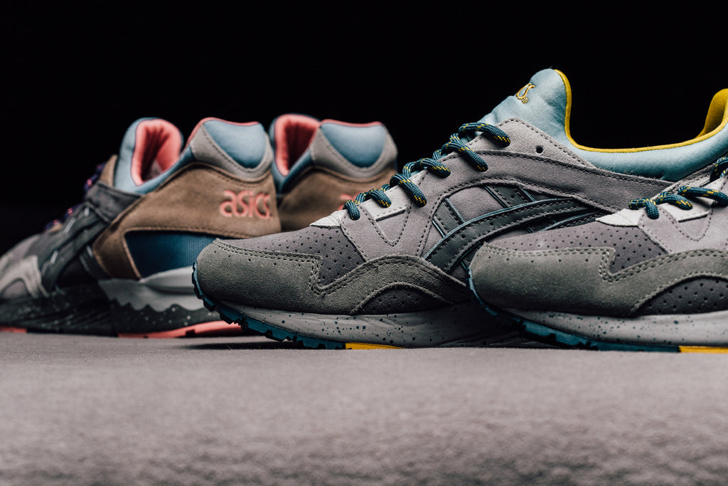 30d22dca8612 Asics gives their Gel-Lyte V silhouette ( 110) an outdoor makeover for its  latest