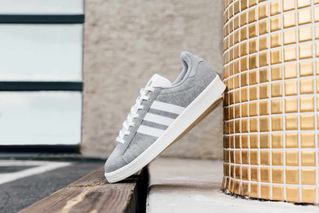 quality design f367c 5d98c Adidas Originals teams up with Tokyo menswear brand Bedwin   The  Heartbreakers to bring a fresh lightweight color scheme to their Campus 80  model ( 140).
