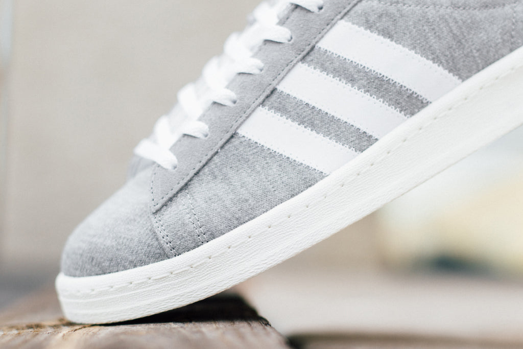 new product 72b35 8aabf Adidas Originals x Bedwin   The Heartbreakers Campus 80s In Grey Avail – Feature  Sneaker Boutique