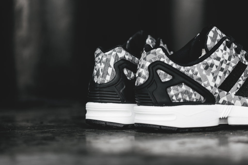 Adidas Originals ZX Flux Weave In WhiteBlack Available Now