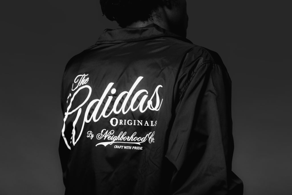 Adidas Originals x Neighborhood Coaches Jacket In Black