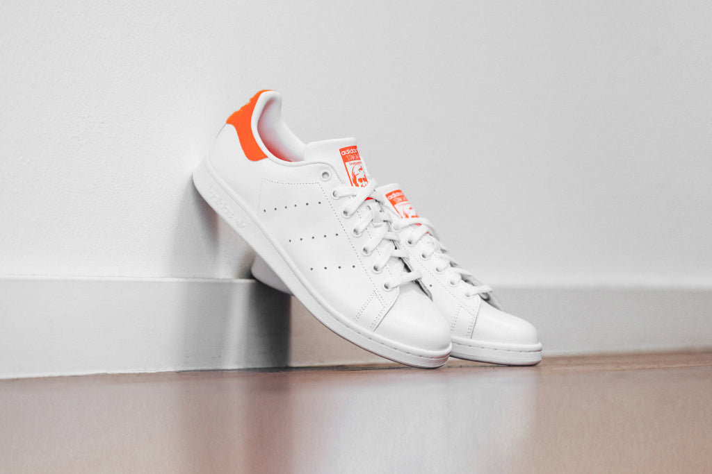 differently ea9ba 42947 Adidas Originals Stan Smith In White Infrared Available Now