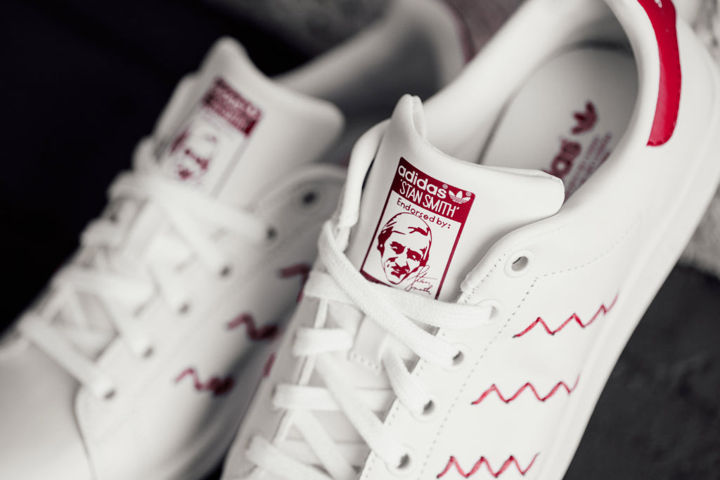 detailed look 2bb94 24adf Previous  Next. Adidas expands their Women s collection, with the addition  of the Zig Zag Stan Smith ...