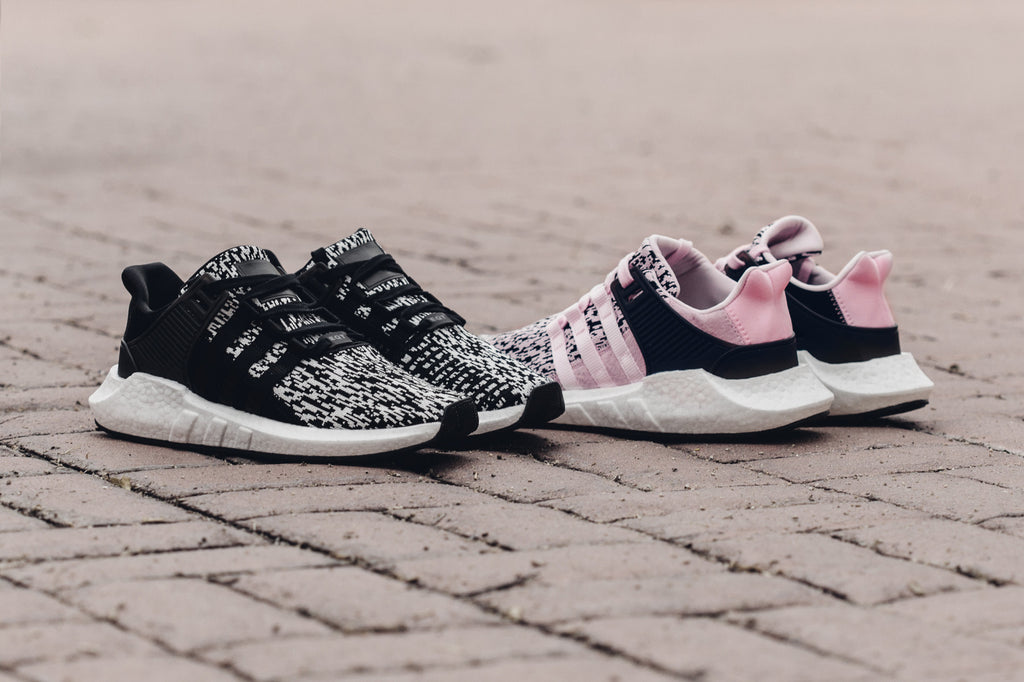 new arrival 4ff8c c0acc eqt support 93 17 pink glitch adidas gives their eqt support 93 17  silhouette (180) the popular glitch camo treatment