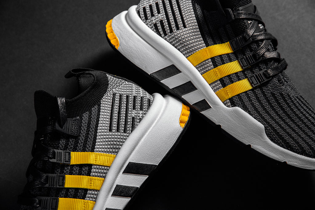 Adidas EQT Black and Yellow – Feature