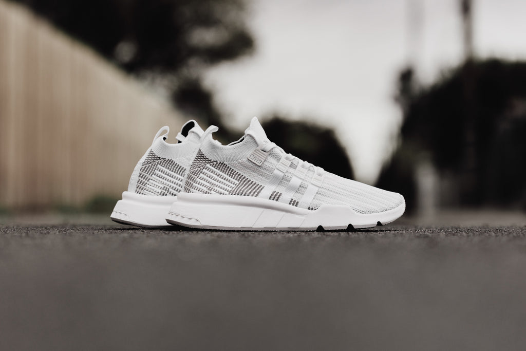 buy popular 52beb 9e6b7 White Adidas EQT Support Mid ADV Primeknit – Feature