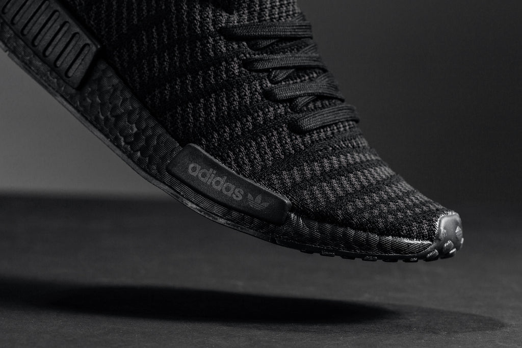 Adidas Nmd R1 Stlt Primeknit Utility Black Soft Pink Available Now