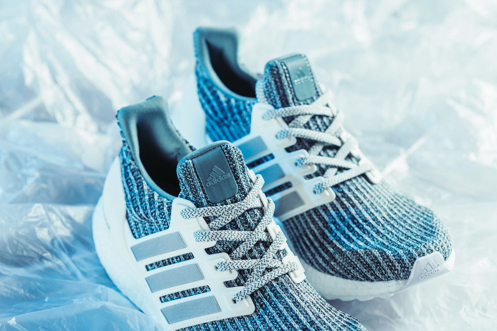 22bffe15ed9cf Adidas expands their Ultraboost 4.0 line with an LTD rendition. This time  around the sleek silhouette gets treated to a Cloud White Silver Primeknit  upper ...