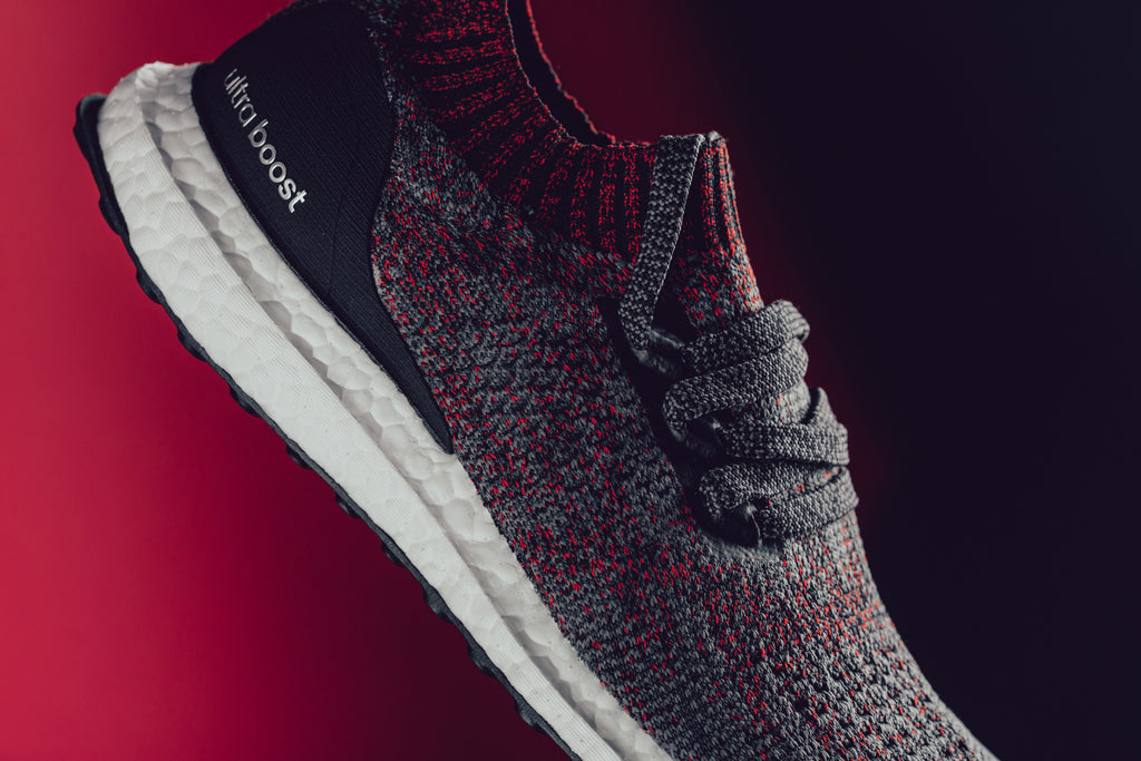 Women'S Adidas Ultra Boost Uncaged Carbon, Core Black & Grey