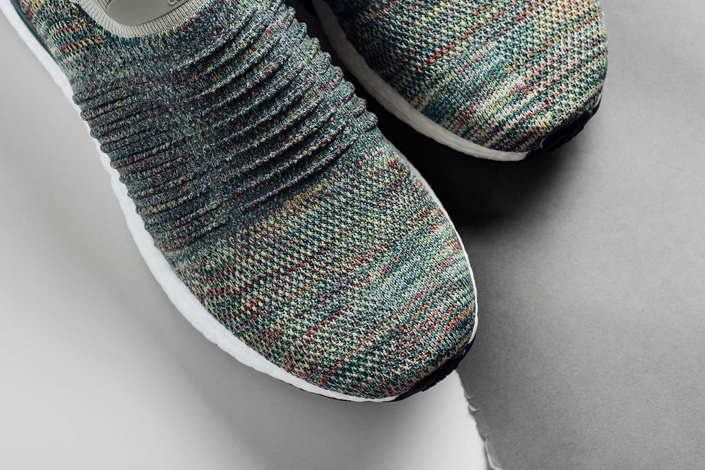 5db214ea951 Adidas expands their laceless Ultraboost collection with a multi-colored  rendition ( 200). The upper of this variation features a predominately