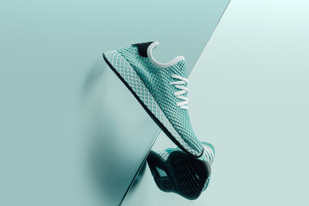 brand new cd7dd c09bb Adidas x Parley Womens Deerupt Runner Available Now – Feature Sneaker  Boutique