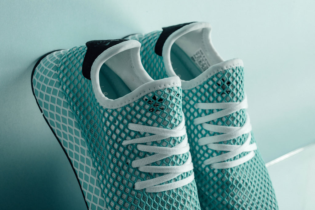 new arrival 51168 b5a39 Adidas x Parley Womens Deerupt Runner Available Now
