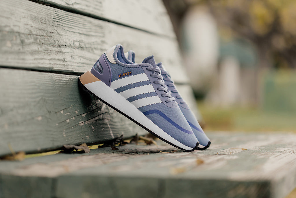 quality design 83d92 8abca Taking inspiration from the I-5923, Adidas now introduces the N-5923  silhouette ( 90) in a new women s colorway. Officially labeled as