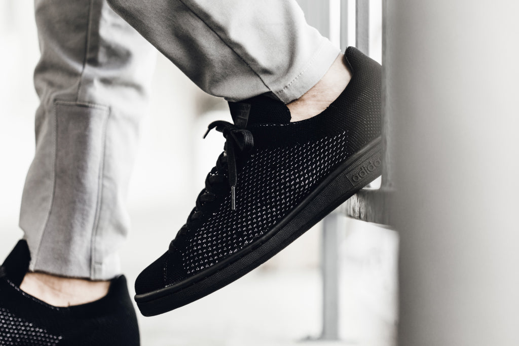 5b40d7b9a86b Adidas Originals Stan Smith Black  Primeknit  Available Now ...