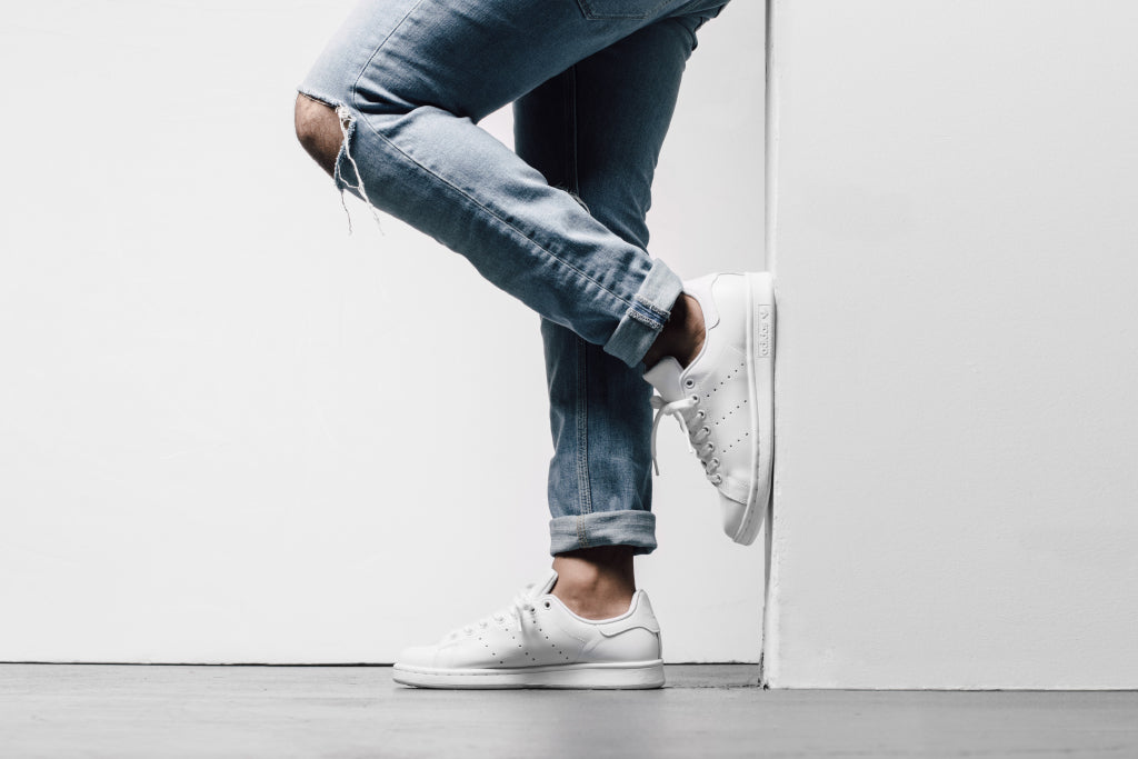Adidas Originals  Triple White  Stan Smith Available Now – Feature Sneaker  Boutique 335ef70e3