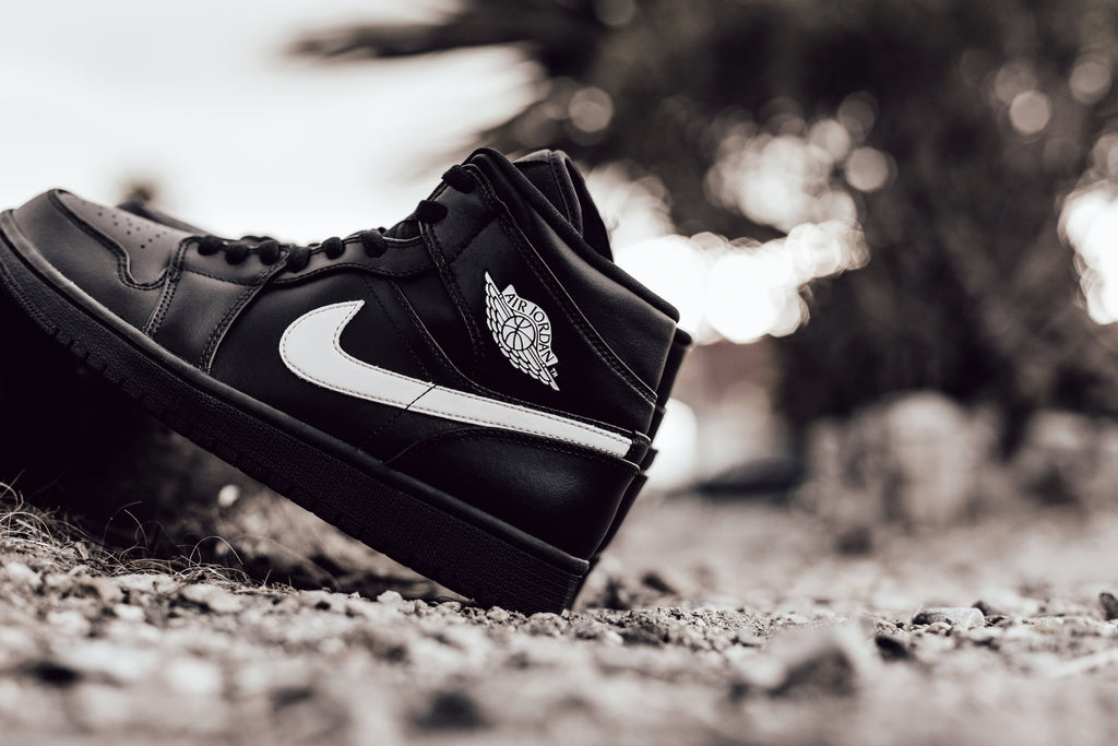 Black and white air jordan 1 feature sneaker boutique