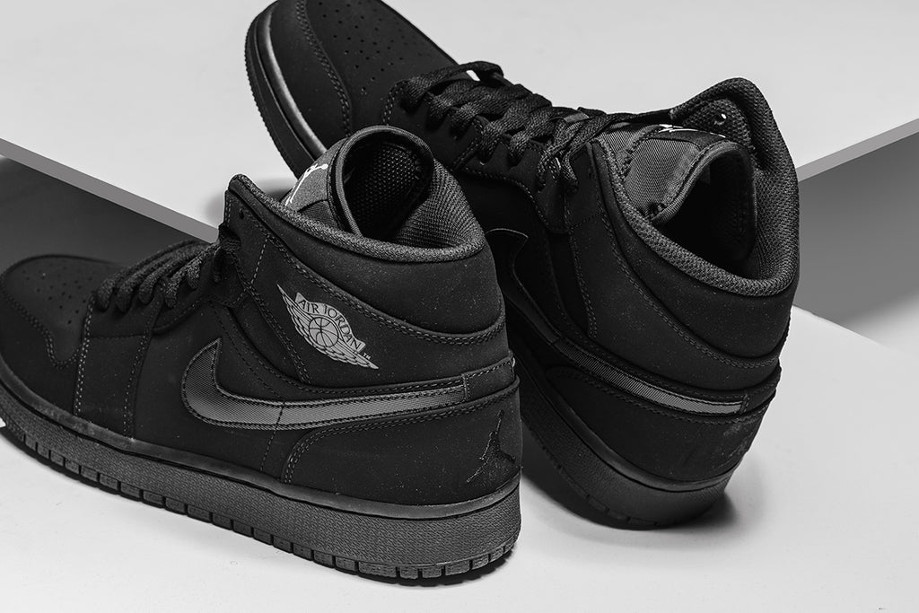 68c0bf6f2cbce5 Jordan Brand expands their Jordan 1 Mid Collection this season with a tonal  nubuck rendition ( 110). The brand showcases the sneaker in a full nubuck  ...