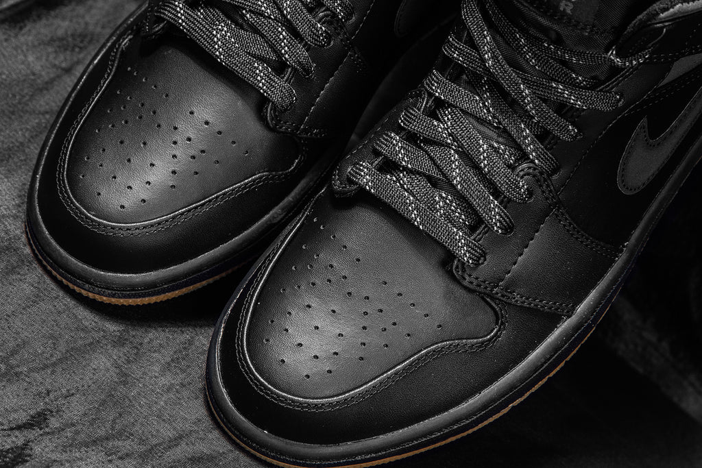 Air Jordan 1 Mid  Winterized  In Black Anthracite Available Now ... 0759b38f7