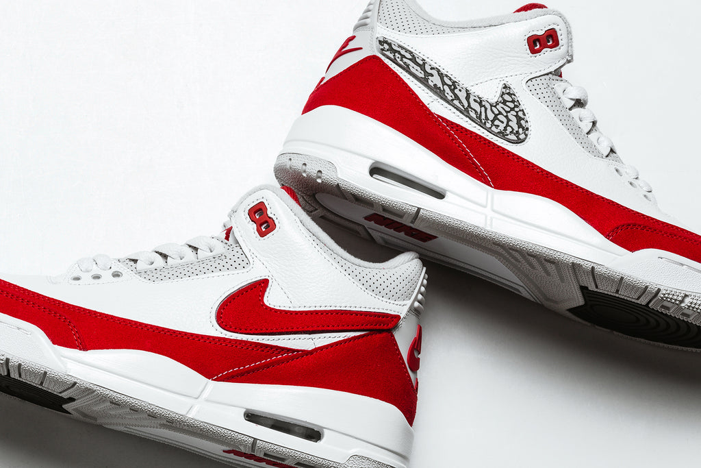 e04138dd8d01e0 Jordan Brand presents a combination of two classic silhouettes both  designed by Nike s own Tinker Hatfield in the form of the Air Jordan 3  Retro Tinker ...