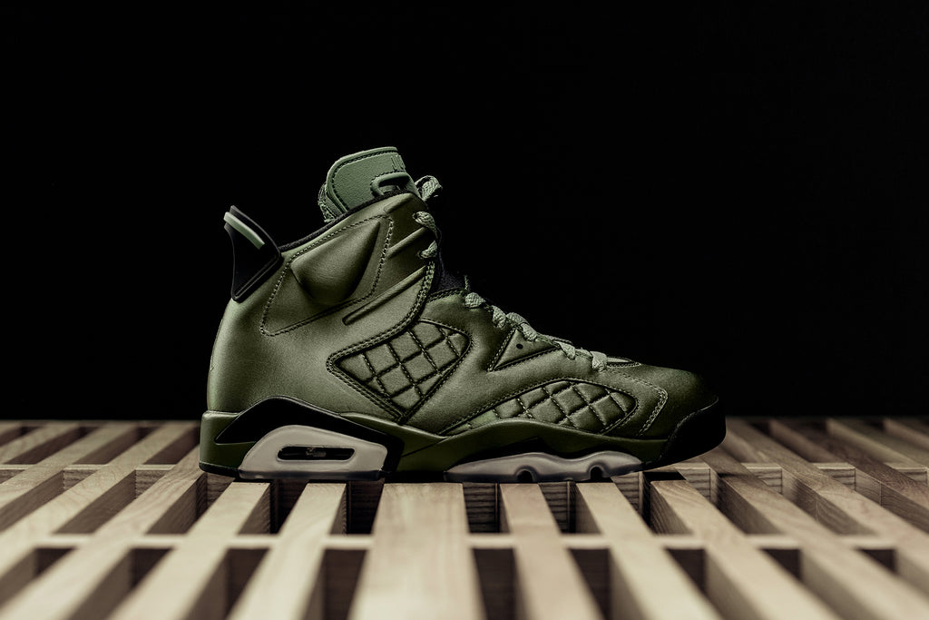 3e55601fce3 Jordan Brand unveils an exclusive Air Jordan 6 Pinnacle ($225) inspired by  the Flight Jacket worn by MJ during his appearance on Saturday Night Live  back in ...