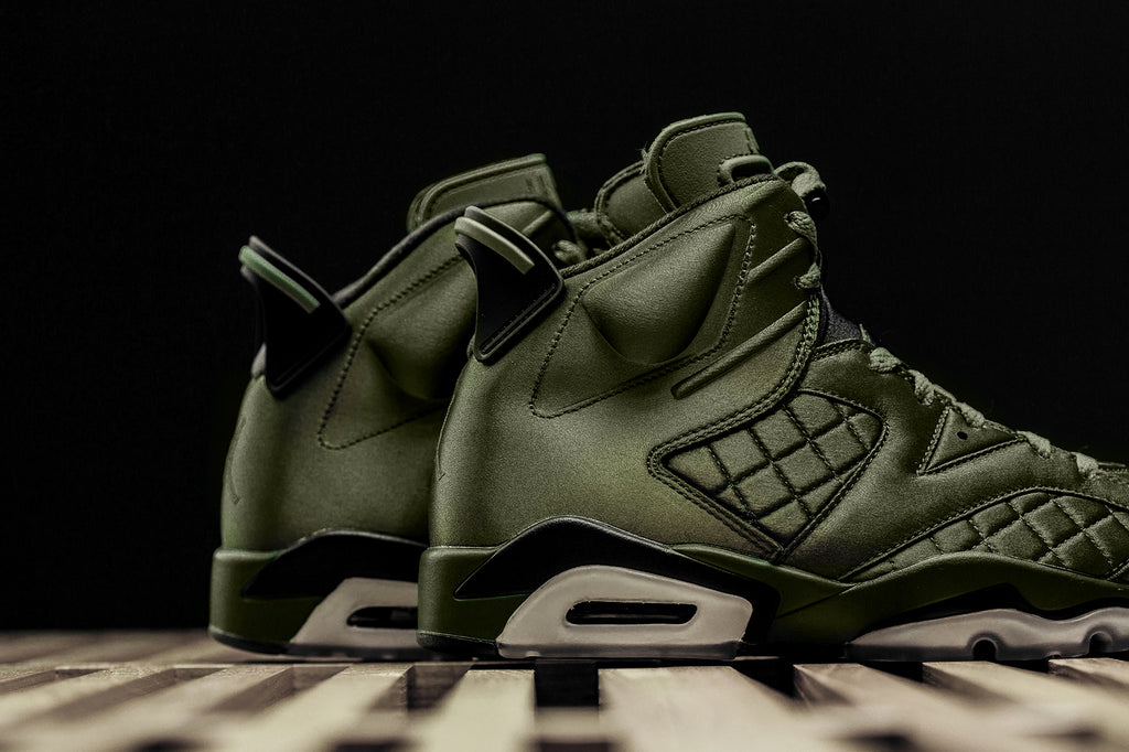 cb837fa242e Jordan Brand unveils an exclusive Air Jordan 6 Pinnacle ($225) inspired by  the Flight Jacket worn by MJ during his appearance on Saturday Night Live  back in ...