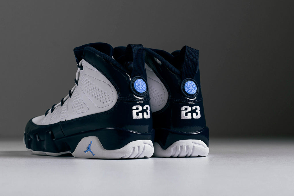 promo code 3743d e7951 Jordan Brand presents a historic iteration of the Jordan 9, inspired by the  colors of Jordan s college career ( 190). Originally released in 1993, the  Air ...