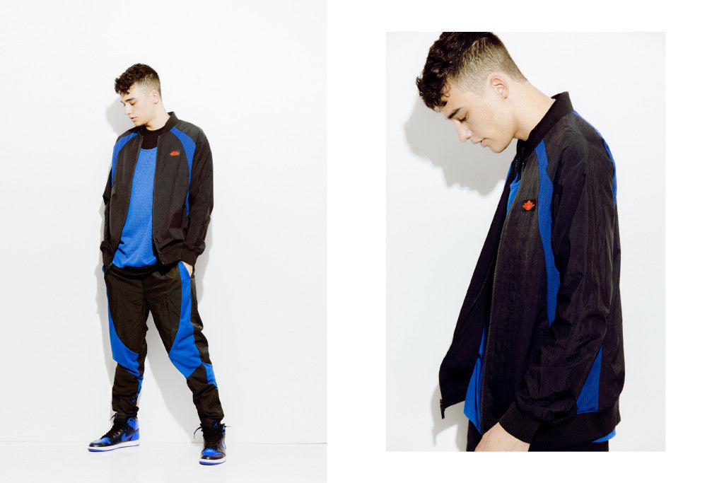 a685a658d307 Jordan Brand is back with another re-release of the OG Air Jordan tracksuit  from 1985. The two-tone nylon suit resembles the exact copy of the one  Jordan ...