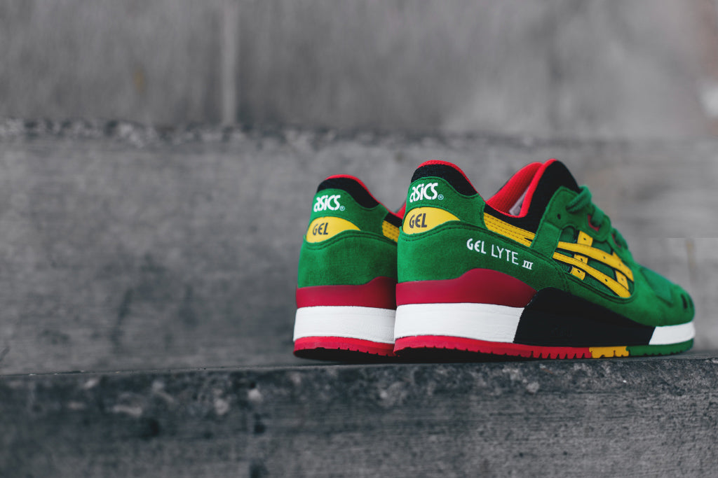Asics Gel Lyte III In GreenYellow Available Now – Feature