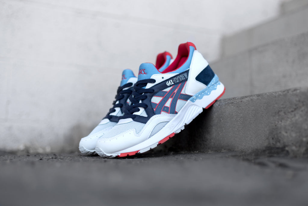 designer fashion 123f2 0a719 ... black sky blue fuchsia sneakernews 5cb62 40104  inexpensive asics gives  their coveted gel lyte v runner 110 a new look for the upcoming