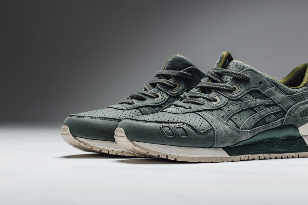 Asics releases a trio of new colorways to their Gel-Lyte III runner ( 120).  Dubbed the