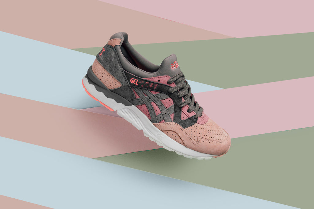 Asics Gives the iconic Gel-Lyte V silhouette ( 130) a Pastel makeover for  summer. The latest delivery consists of three new takes available in  Apricot ... d3b50073e