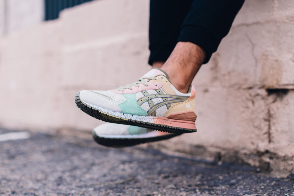 886d594a28e2 Asics joins forces with Boston s Bodega to give their retro Gel-Classic a  new look. Previously known as the Gel-Trendy