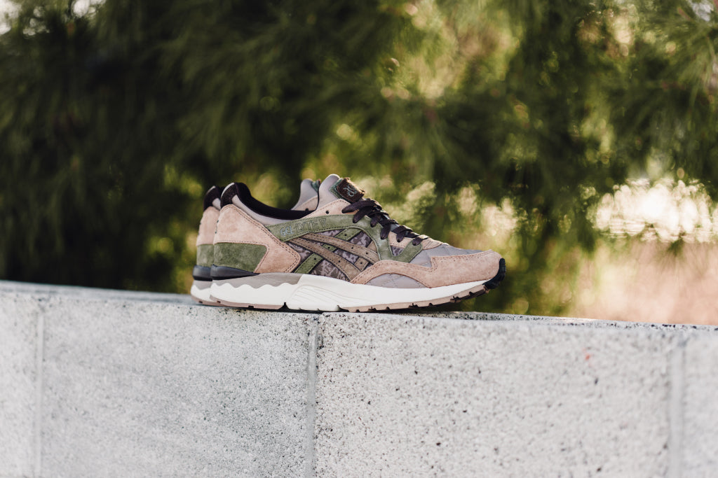 online store a64eb 47d53 Asics teams up with Japan s Kicks Lab and renowned customizer SBTG for the  latest rendition of the iconic Gel-Lyte V runner. Dubbed the  Phys-Ed , ...