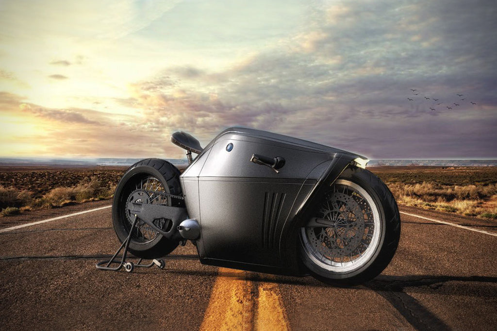 BMW 'Radical' Motorcycle Concept