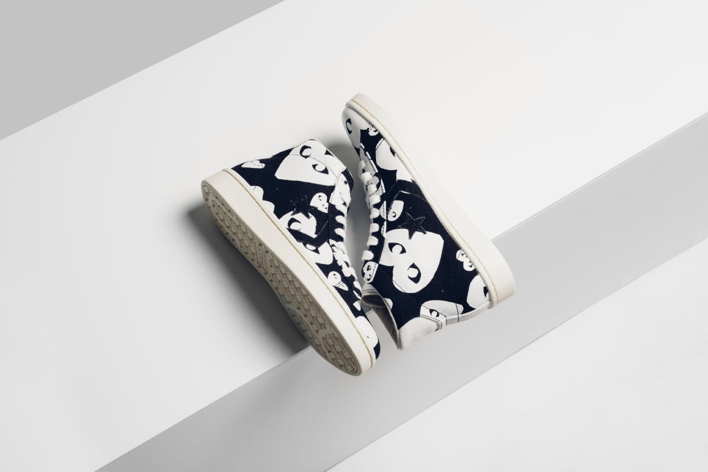 09f16586318d Converse x Comme Des Garcons PLAY Pro Leather Collection Available Now