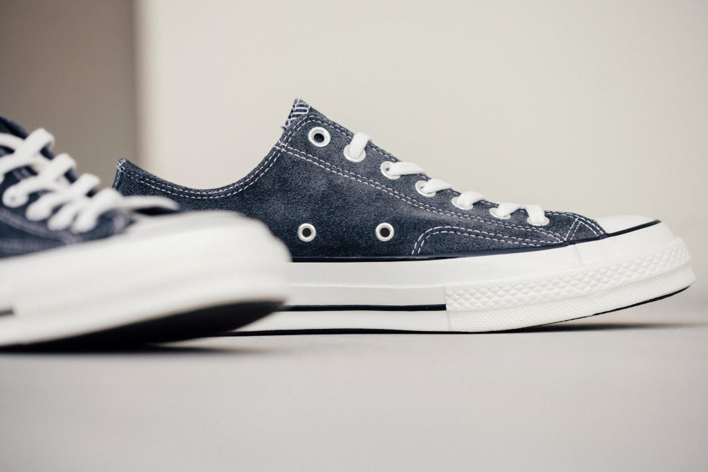 Converse Chuck Taylor All Star '70 Low Suede In Charcoal