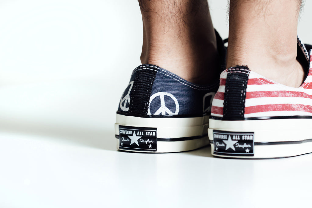 Converse Chuck Taylor All Star '70 Low 'Peace Flag