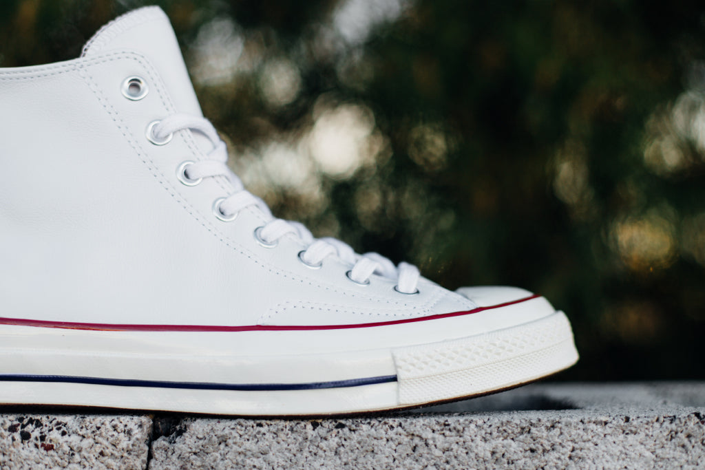 3061e7e87053 Converse Chuck Taylor All Star  70 Hi Leather In White Egret ...