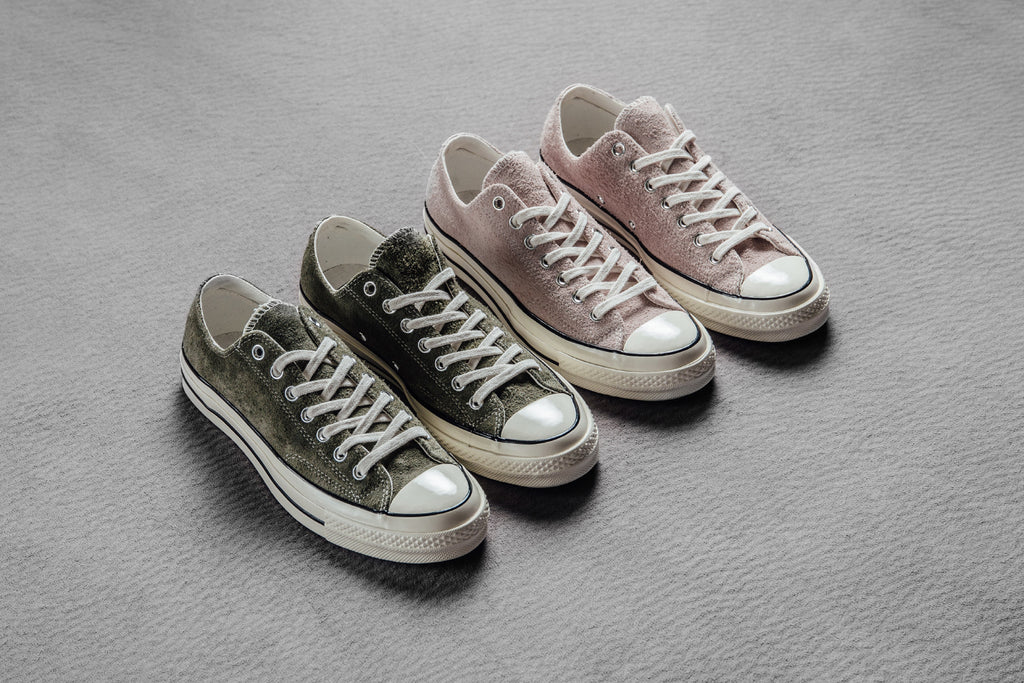 3f6dafa5c8d5 Converse Chuck Taylor All Star  70 Suede Collection Available Now