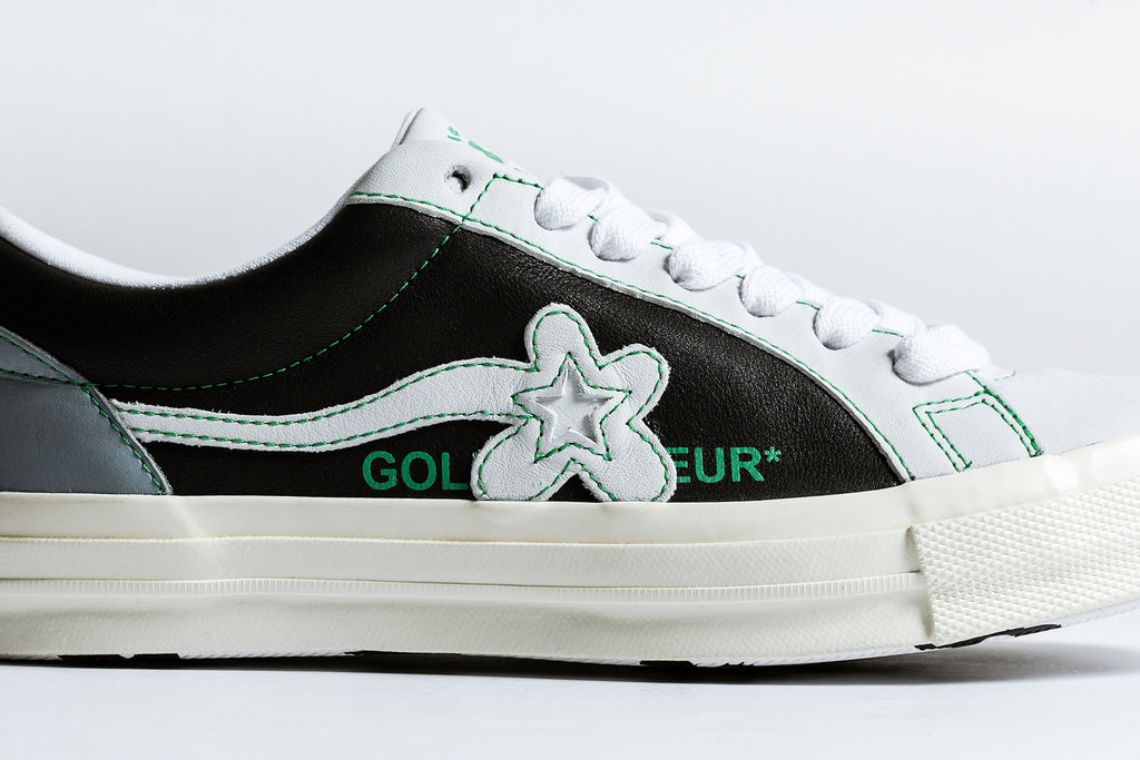 f1bad84e06cc Converse and Tyler the Creator s Golf Wang label come together for another  collection that features two new renditions of the classic Ox silhouette  ( 110).